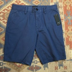 Quicksilver Straight fit Blue Shorts Size 28